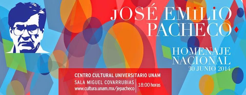 Homenaje Nacional a José Emilio Pacheco en el CCU