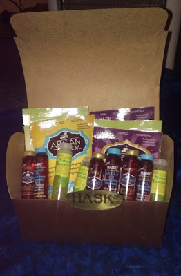 Hash Hair gift box open