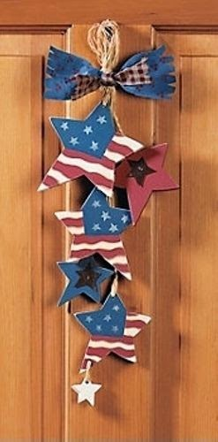 patriotic home door decor