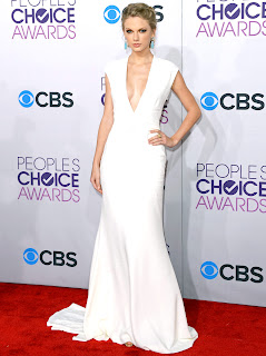 Taylor Swift white dress 2013 Pictures