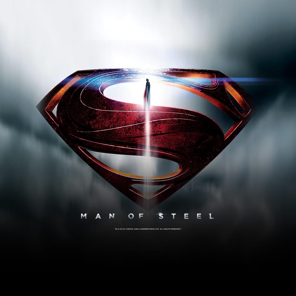 Man of steel new ipad wallpaper free ipad retina hd wallpapers - Wallpaper superman man of steel ...