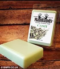 sabun aroma uang