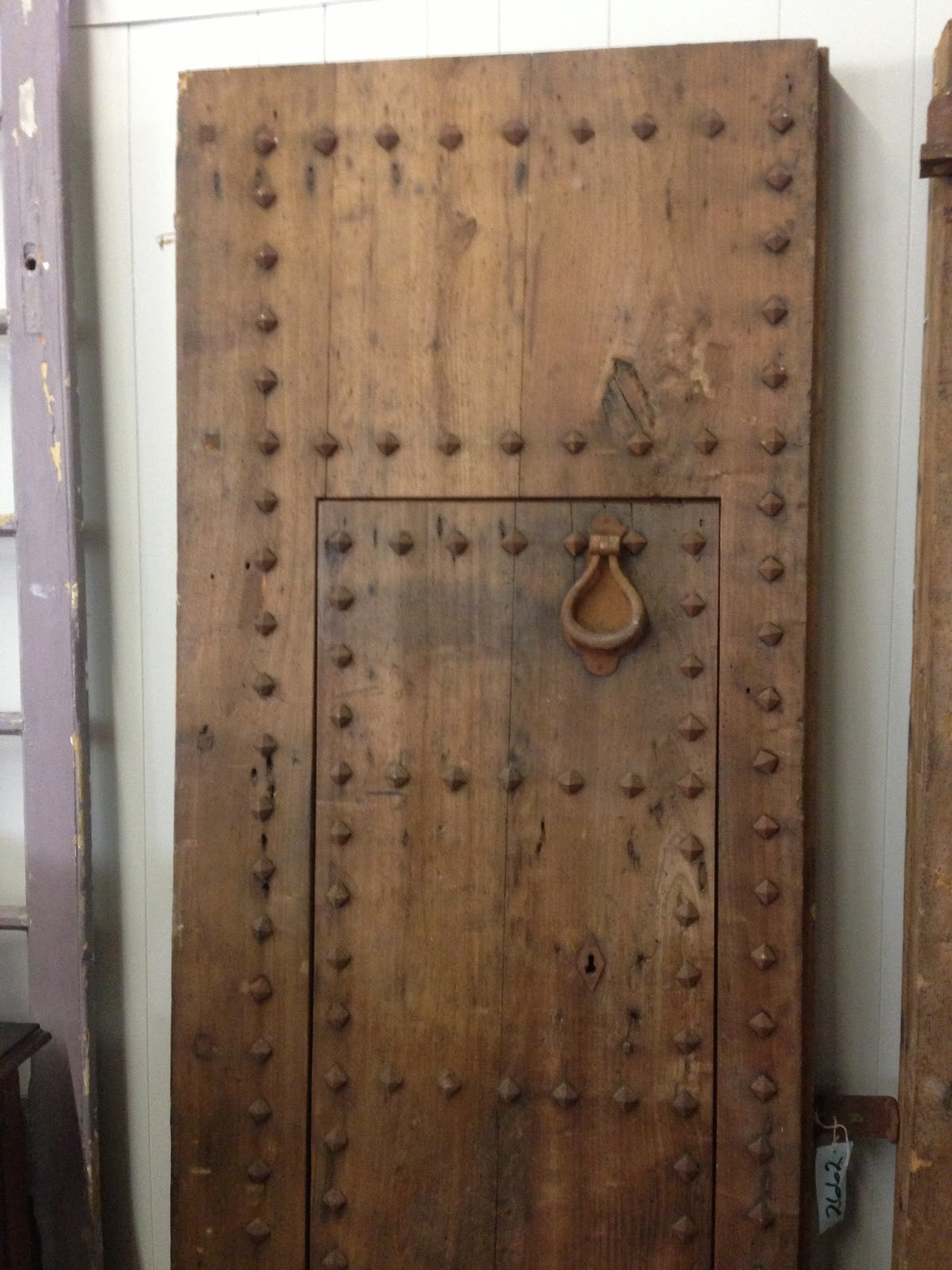 Pair of Spanish Doors - The Front Pictured Above - Yvonne McFadden Interiors: New Life For Antique Doors