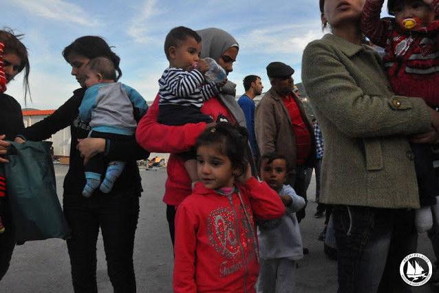 Φοιτητές του ΔΠΘ στη Σάμο για την υποστήριξη των προσφύγων