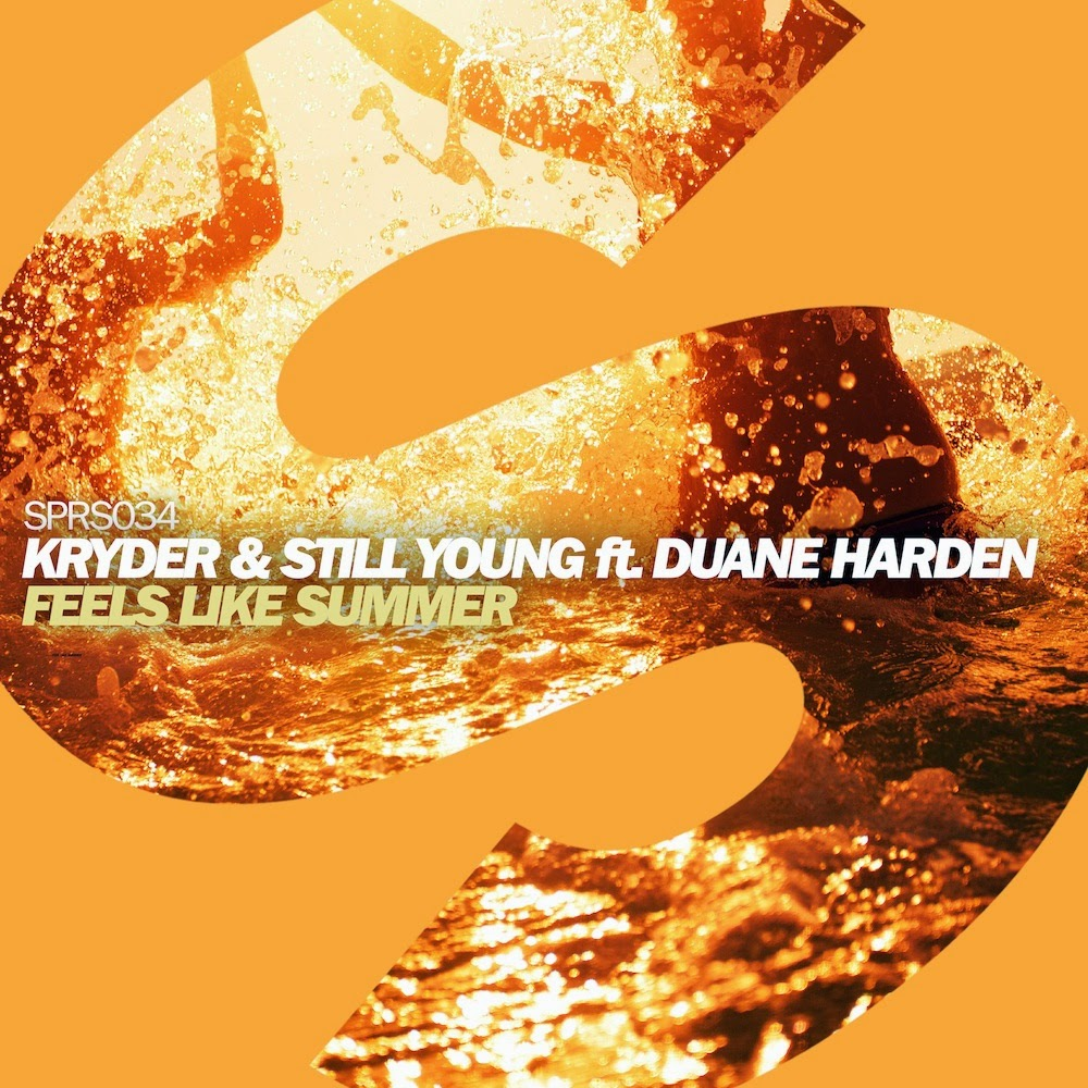 Kryde and Still Young and vocalist Duane Harden for Feels Like Summer on spinnin