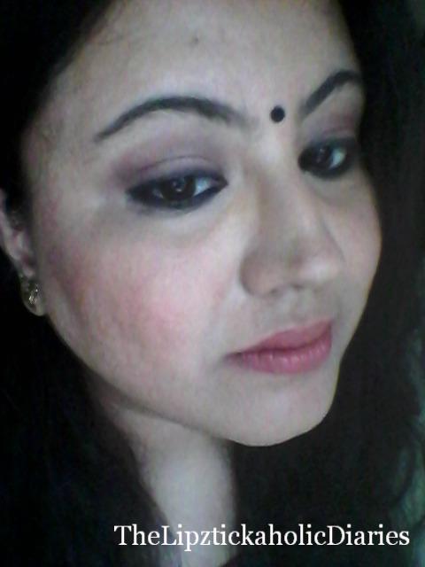 "Deepika Padukone inspired Makeup Look from ""Piku"" image"