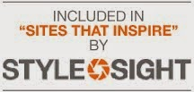 "Named by Stylesight's trend experts as a ""Site that Inspires."""