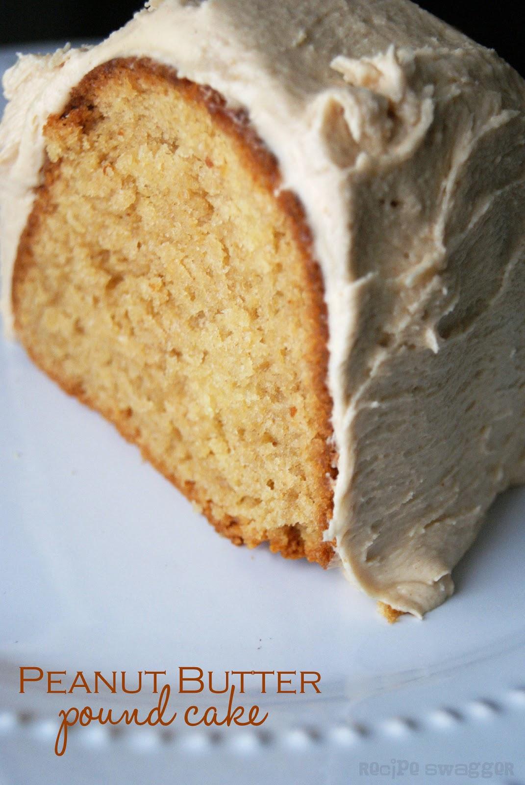 Recipe Swagger: Peanut Butter Pound Cake