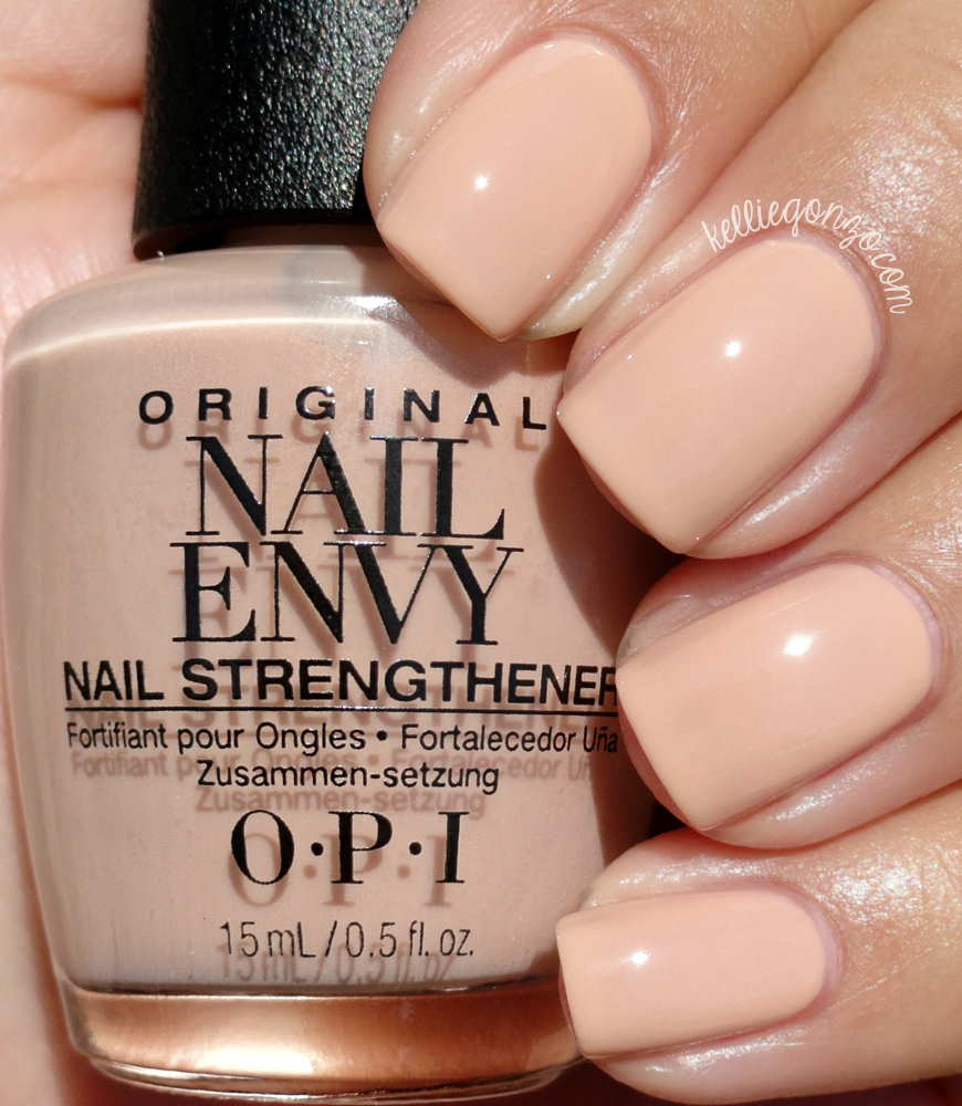 KellieGonzo: OPI Nail Envy Strength In Color Collection Swatches ...