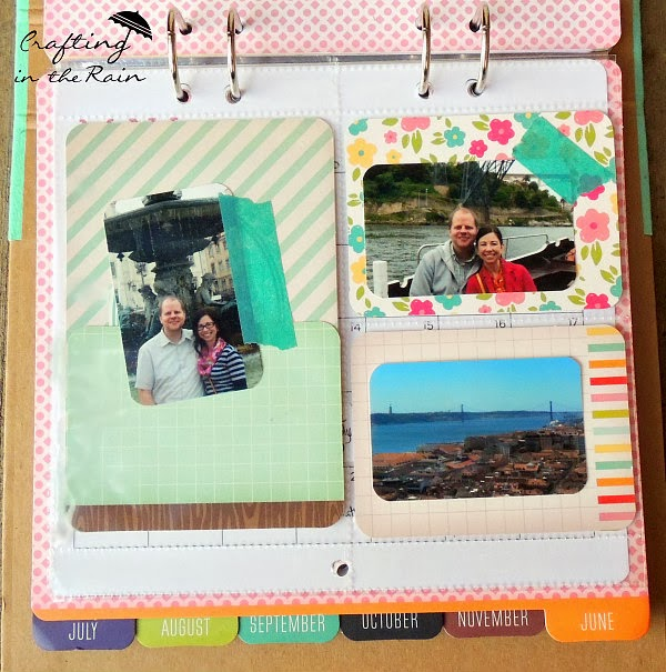 Photo Calendar Great Gift | Crafting in the Rain