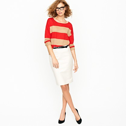 in praise of the j crew no 2 pencil skirt