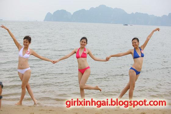 Hoa khôi áo tắm, miss bikini Vietnam, hình ảnh girl xinh bikini 16