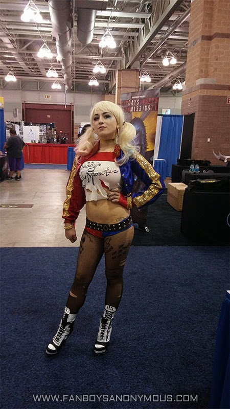 Suicide Squad sexy Harley Quinn cosplay