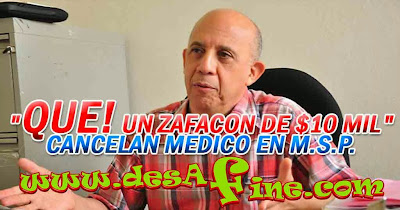 http://www.desafine.com/2013/12/cancelan-medico-por-revelar-danilo.html