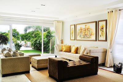 sala de estar beige