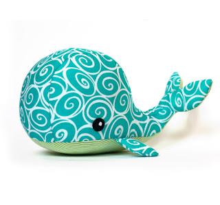 Whale stuffed animal pattern