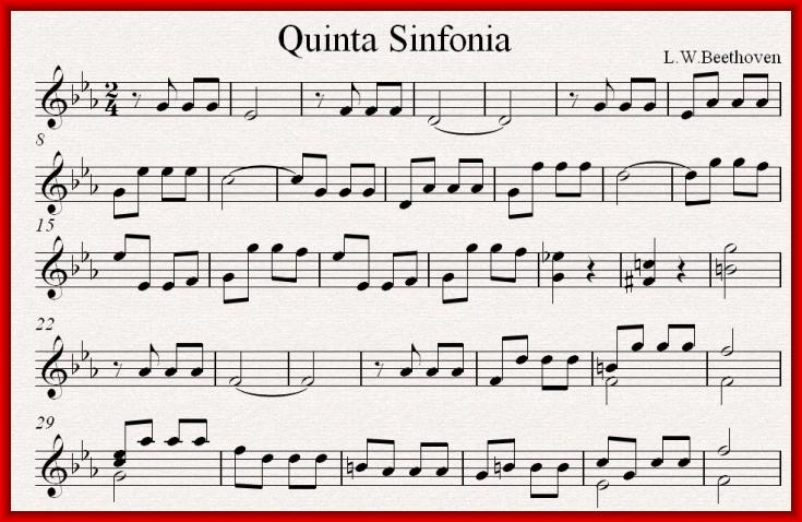 Пятая симфония бетховена слушать онлайн