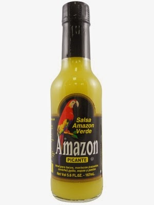 Amazon Green Hot Sauce