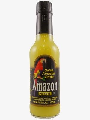 Amazon Green Hot Sauce