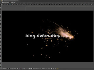 Creating a title in Adobe After Effects with a Mission Impossible theme.