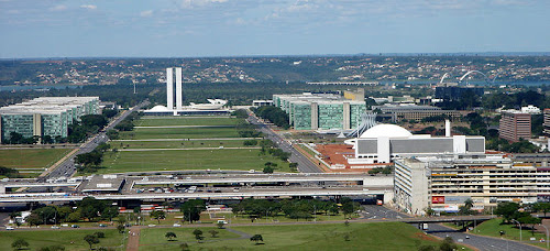 BRASÍLIA / DISTRITO FEDERAL - SÍMBOLO DA MODERNIDADE