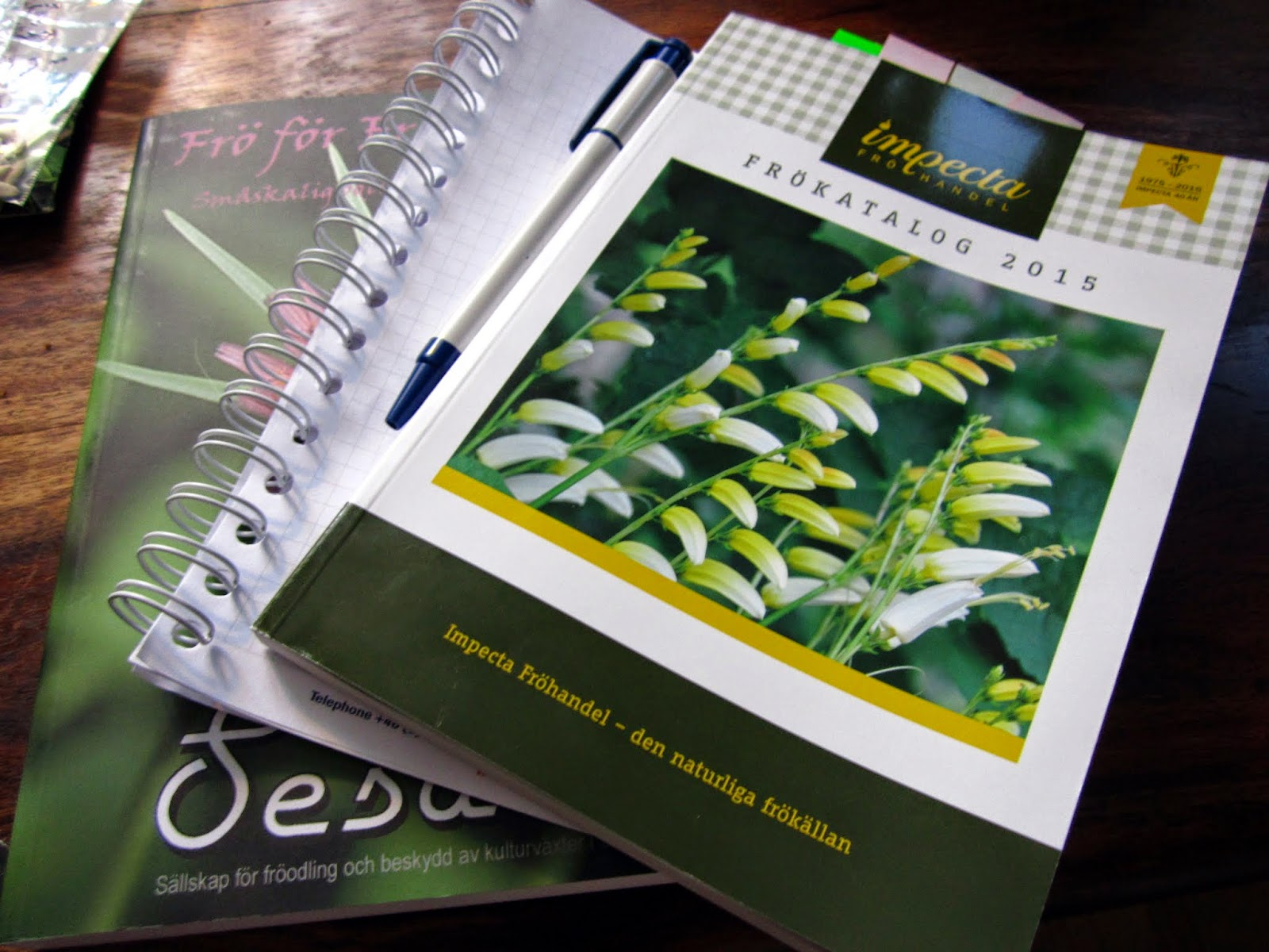 Frön, sådd, frösådd, förså, odla egen mat, självhushållning, frökataloger