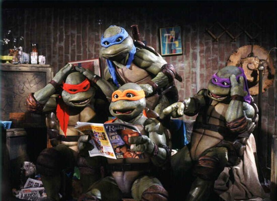 "New Live-Action ""TMNT"" Film Get's Writers!"