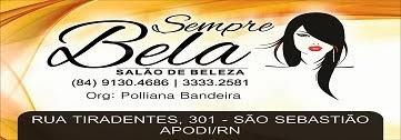 Sempre Bela Salão de Beleza (84) 3333-2581