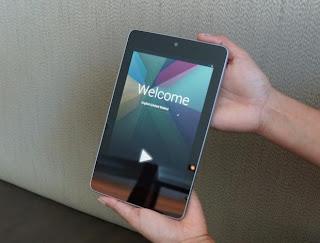 La nueva tablet Nexus 7 de Google