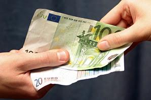 Money passing hands