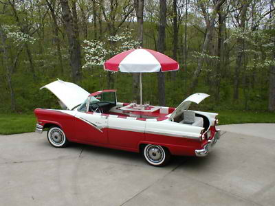 JustaCarGal: Mother of All BBQ's, 1956 Ford
