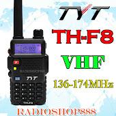 TYT TH-F8 VHF Handheld Dual Display FM DTMF 2-Way Radio
