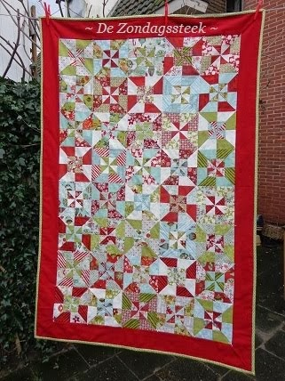 Double Windmill Quilt