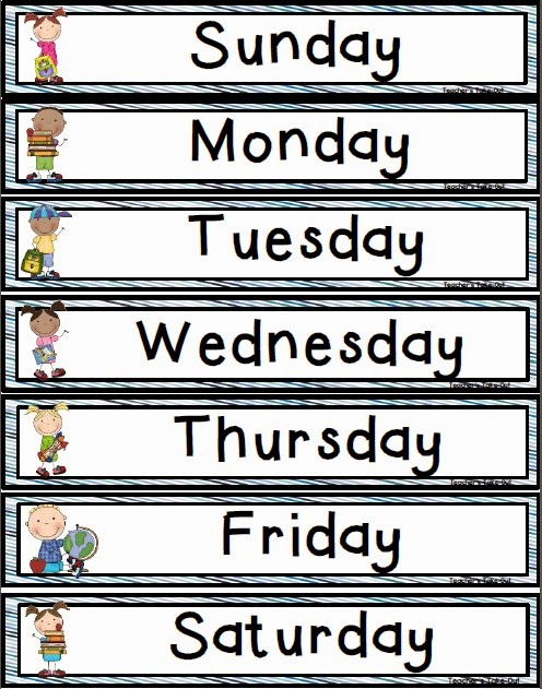 Freebie! Days of the Week