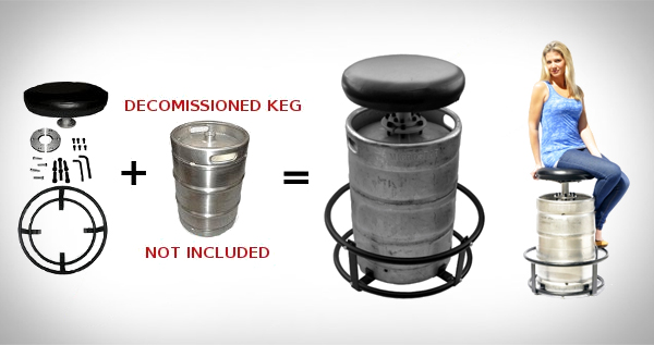 The Keg Stool Kit Cool Sh T You Can Buy Find Cool