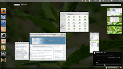 Gnome 3: Actividades (Overview)