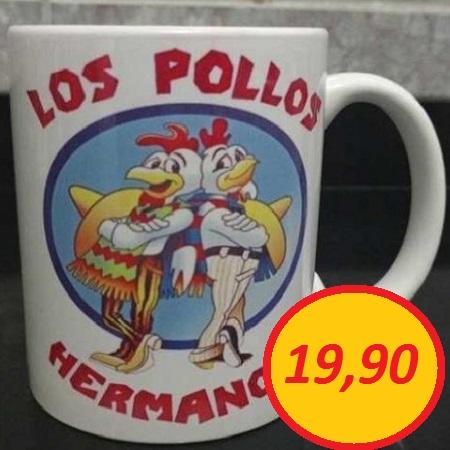 """Caneca """"Los Pollos Hermanos"""""""