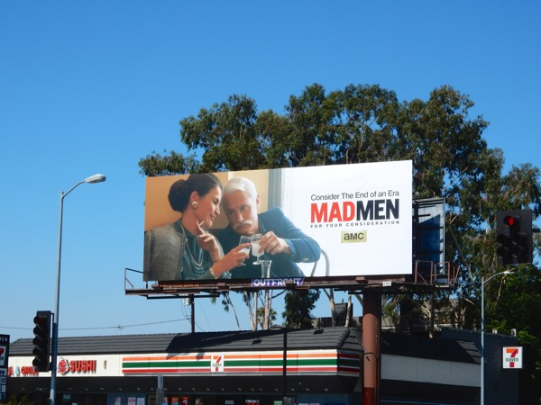 Mad Men Emmy 2015 Roger billboard