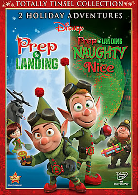 Prep & Landing: Naughty vs Nice DVD Giveaway