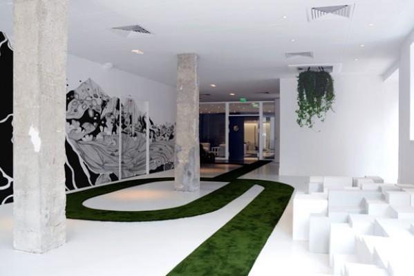 Marzua oficinas de jwt en par s de mathieu lehanneur y for Interior design branding agency