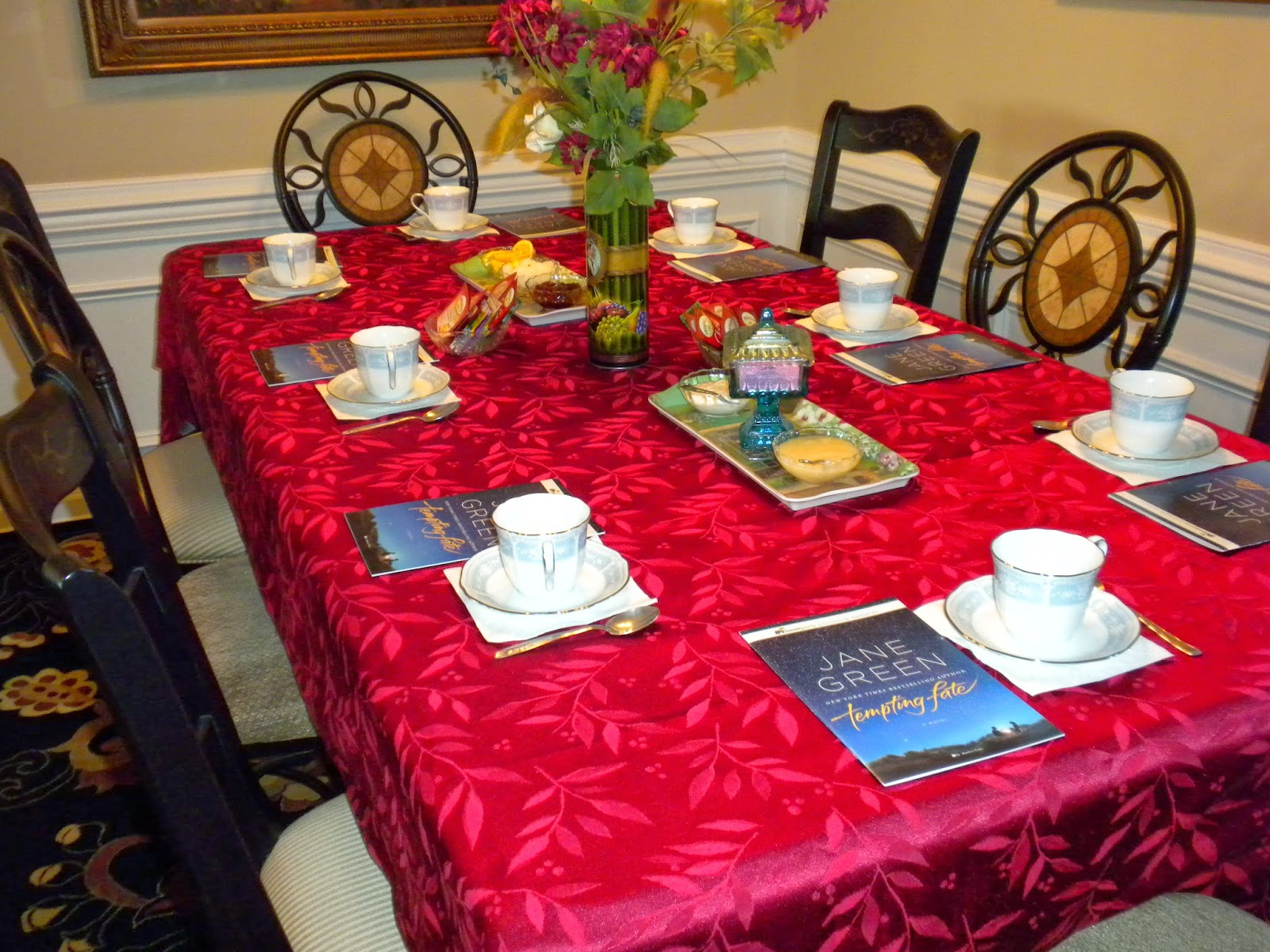 Table setting for a tea party by Substance of Living
