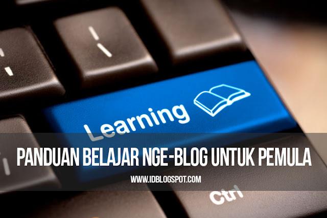 Panduan Belajar Ngeblog Untuk Pemula GRATIS