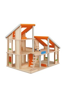 MyHabit: Save Up to 60% off Dollhouses + Decor by Plan Toys: Chalet Dollhouse - Two different units can be arranged and rearranged in various ways; movable staircases; open design ideal for group play