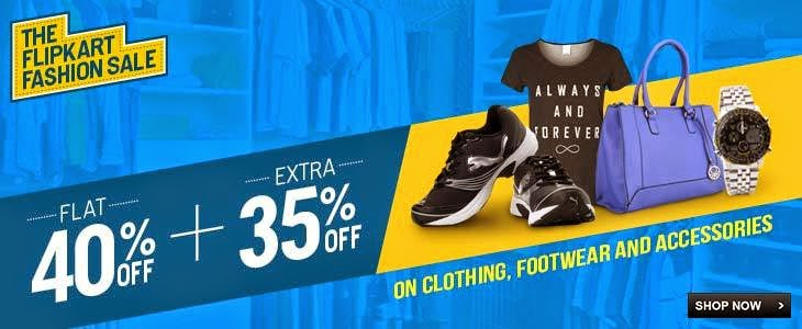 ✔Flipkart offers upto 70% + extra 37% off on over 2000 brands of fashion,footwear,electronics accesories and many more products.......