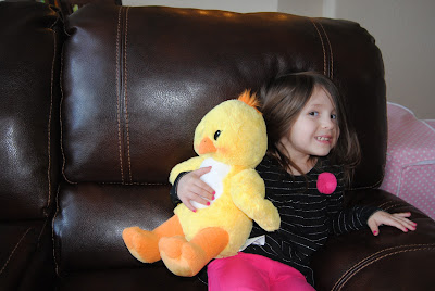 Haley with Chirpy