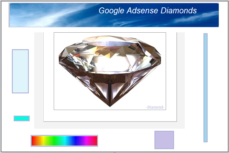 Internet Diamonds Sales using the  Adsense Program