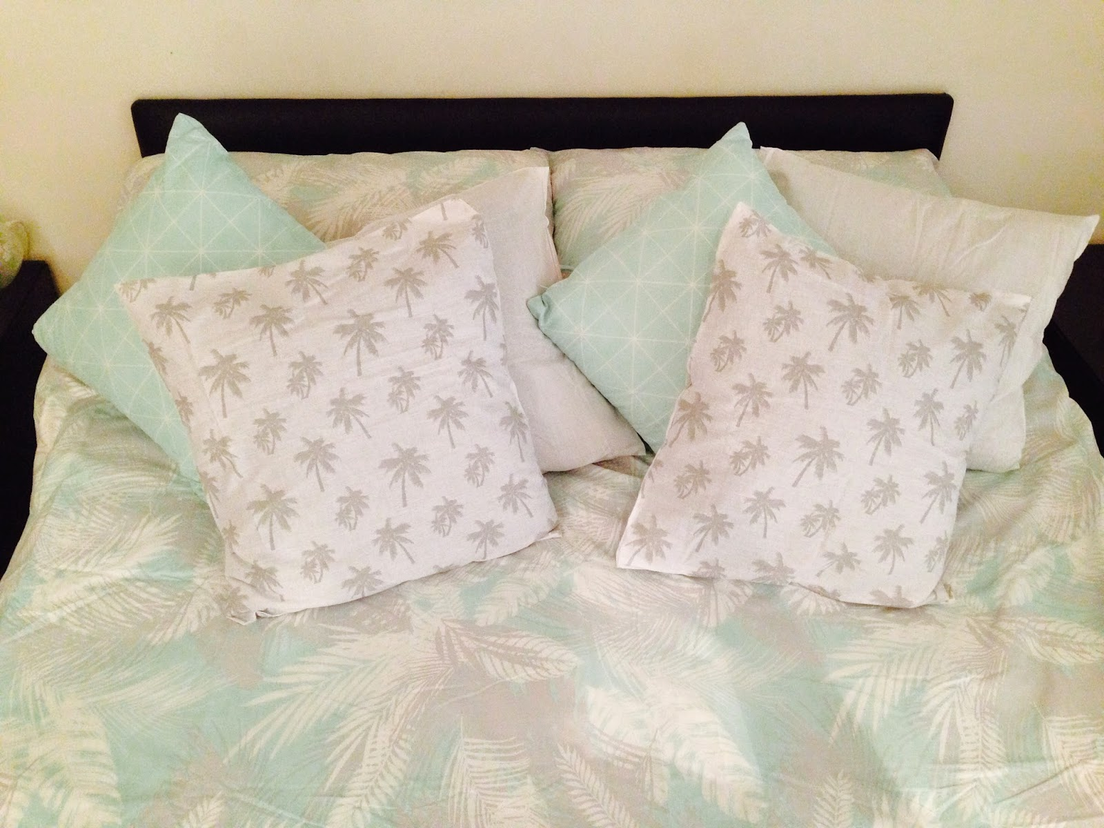 DIY cushion covers spring home decor