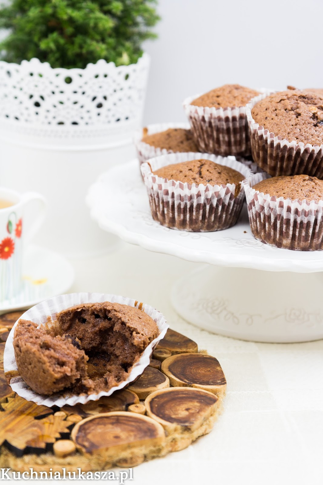 Muffiny czekoladowe