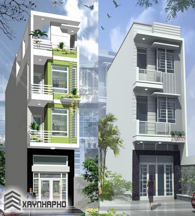 Thiết kế nhà phố đẹp nhất