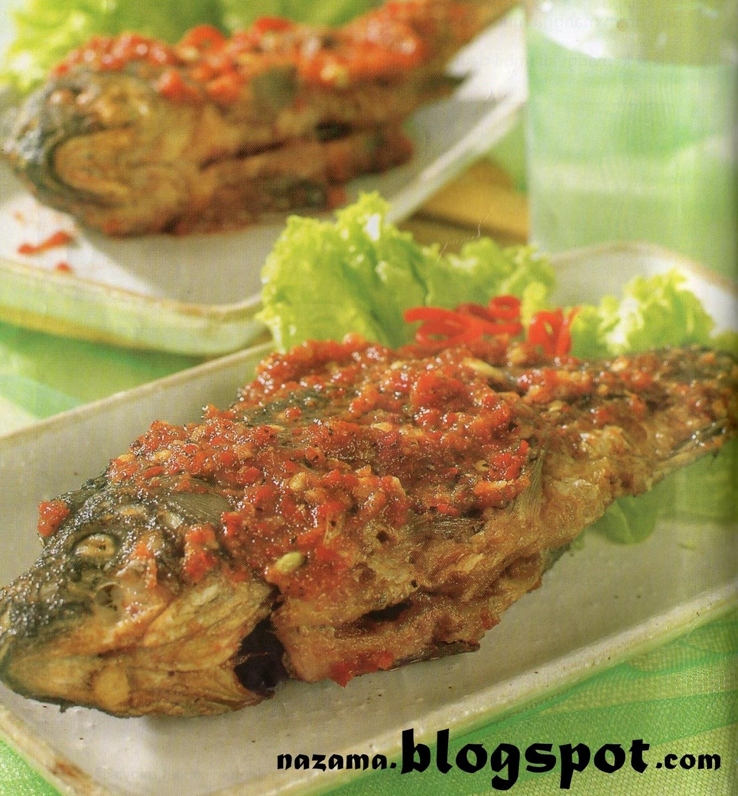 Cobek Ikan Mas khas Jawa Barat